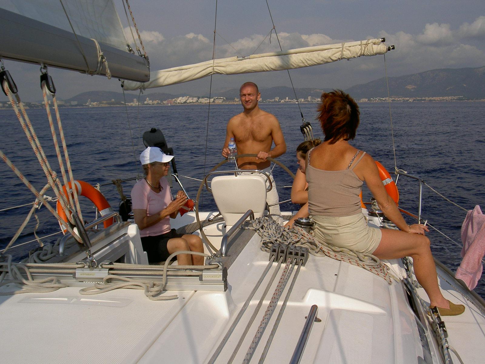 lær at sejle en sejlbåd
