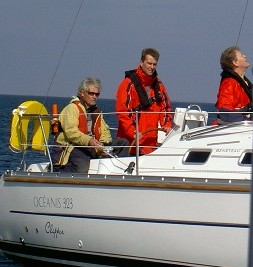 Undervisning ombord på skolebåden